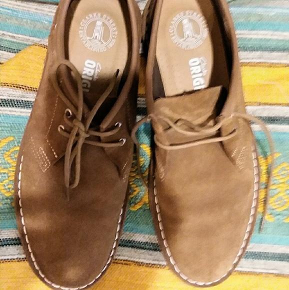 asesinato vender salami  Clarks Shoes | Low Top Chestnut Desert Boot Oxford Mens | Poshmark